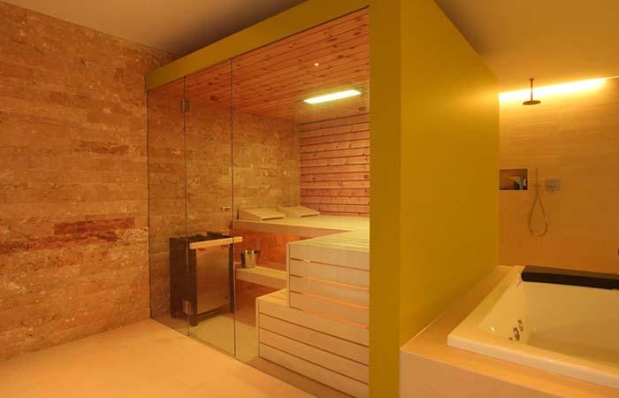 Sauna Anwendungen und Badeformen