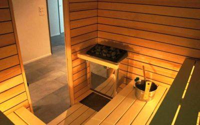 Klima in der Sauna