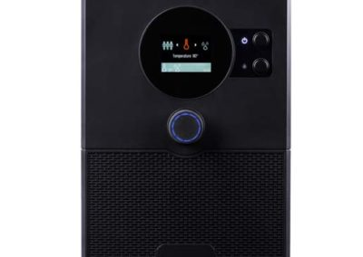 Sauna über das Smartphone oder Tablet steuern - home.com4 Black HC4