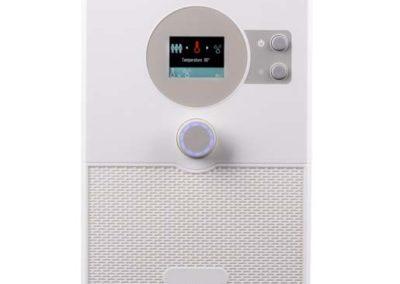Sauna über das Smartphone oder Tablet steuern - home.com4 White HC4