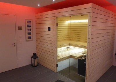 Kundenfeedback. Ging Saunabau - Sauna Kuenzler