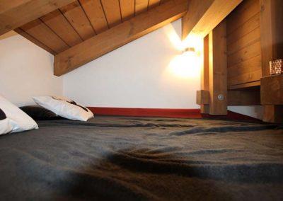 Sauna mit Liegefläche