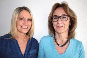 Ging Saunabau AG, Geschäftsleitung Claudia Ging & Mireille Ging