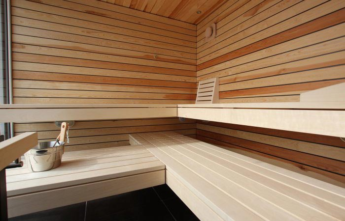 Innenansichten Ging Sauna - Ging Saunabau AG