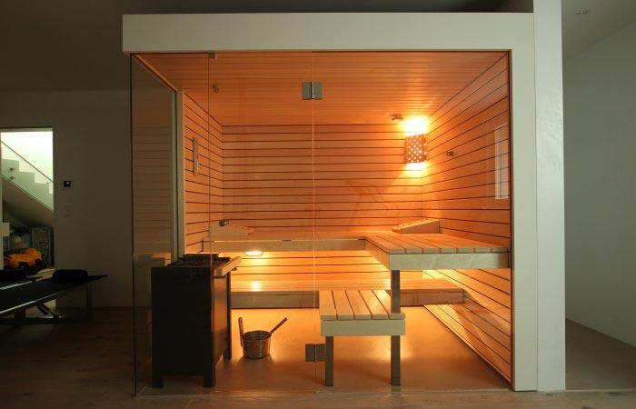 Aussenansichten Saunen - Ging Saunabau AG