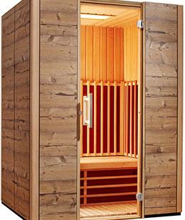 Infrarot Kabine - Ging Saunabau AG