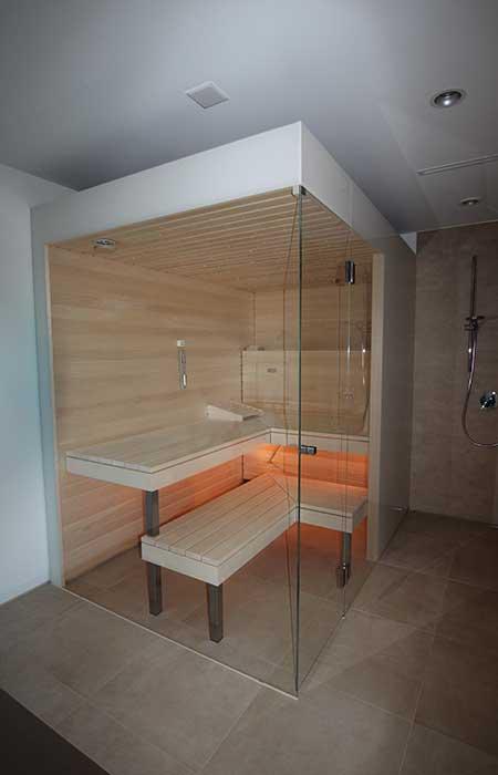 Aussenansicht - Ging Saunabau AG