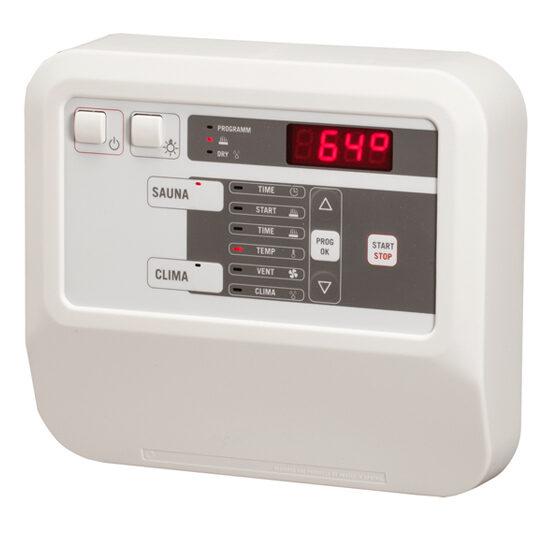 Klimasteuerung CK31 für die kombinierte Sauna.