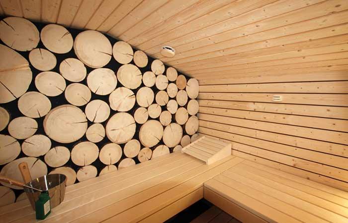 Sauna Innenansicht - Ging- Saunabau AG