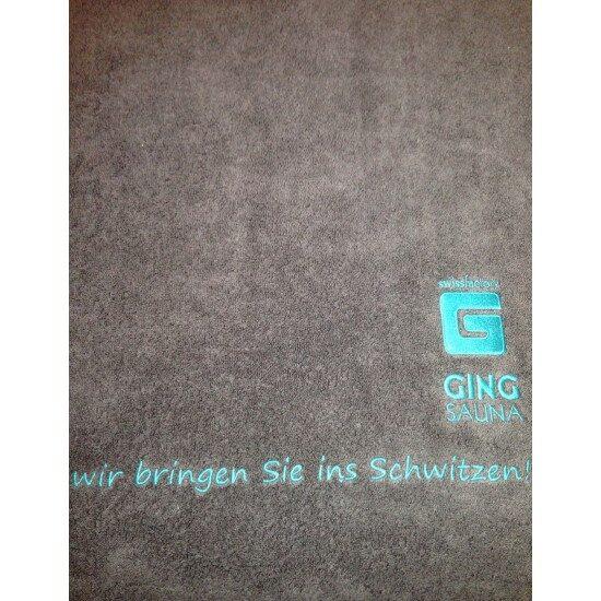 Saunatuch Christian Fischbacher - Ging Saunabau AG