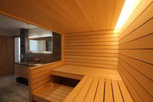 Innenansicht - Ging Saunabau AG