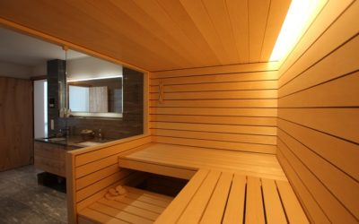 Neues Referenzobjekt – Bio Sauna im Badezimmer