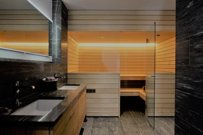 Sauna Aussenansicht - Ging Saunabau AG