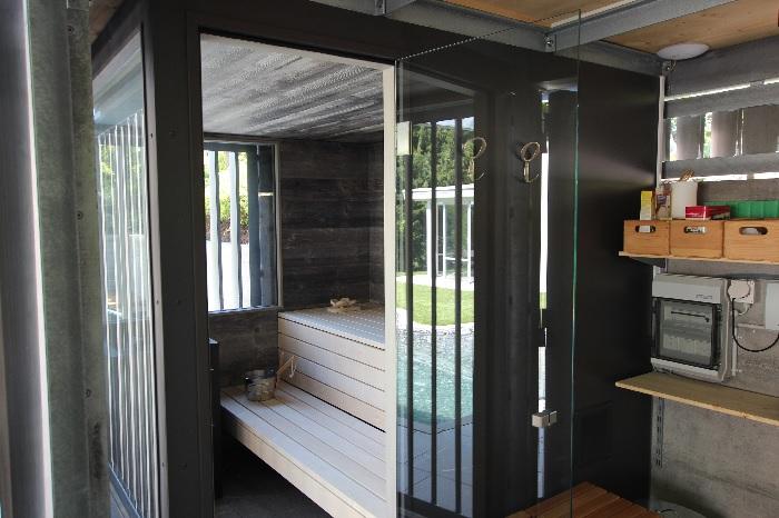 Sauna im Freien - Aussensauna -Ging Saunabau AG