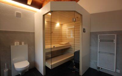 Sauna im Badezimmer