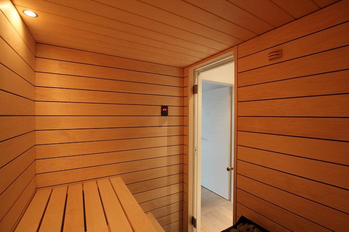 Sauna Innenansicht - Ging Saunabau AG